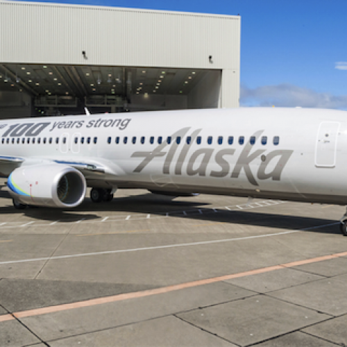 Alaska Airlines chose Nyhus Communications to produce an event for The Boeing Company's 100th birthday in Seattle, Washington.