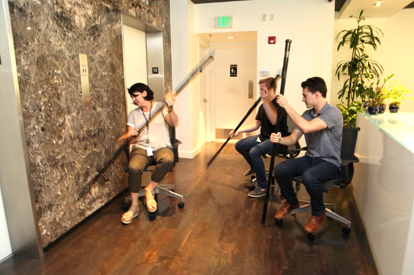 Chair Rowing