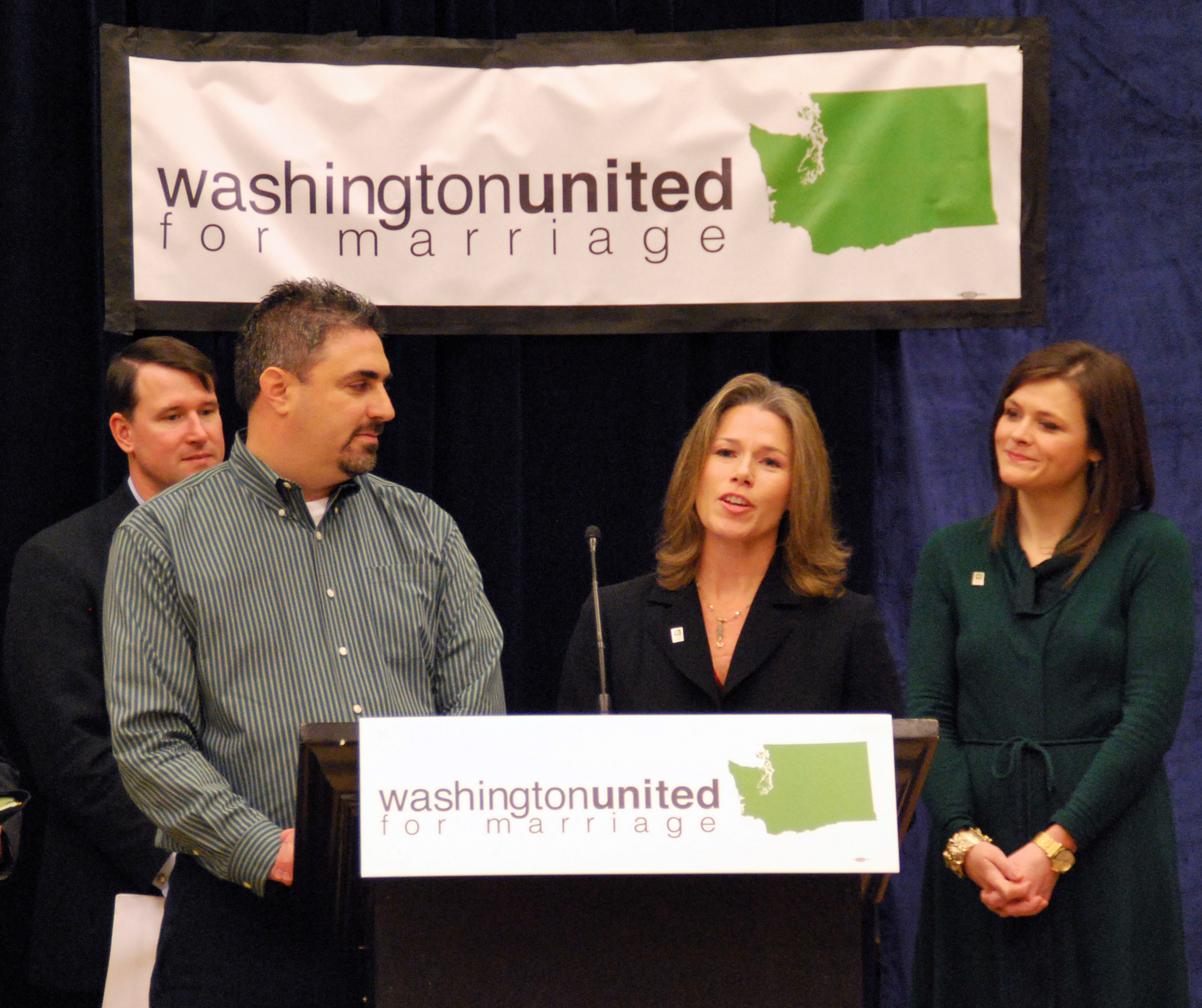 Washington United for Marriage chose Nyhus for LGBTQ advocacy and key legislative support for a marriage equality bill.