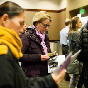 Nyhus produced a large-scale open-house event to rally community support for the Washington State Convention Center addition.
